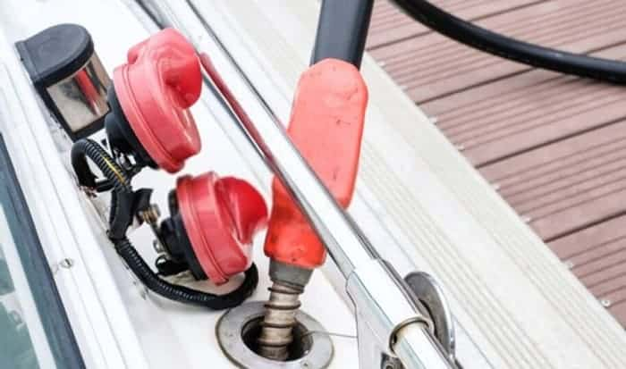 How to clean out a boat gas tank