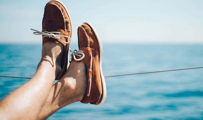 Why-do-boat-shoes-have-laces-on-the-side