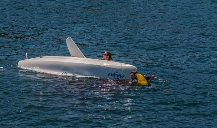 what should you do if your boat capsizes