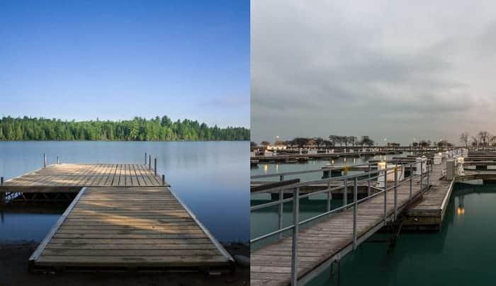 boat slip vs boat dock