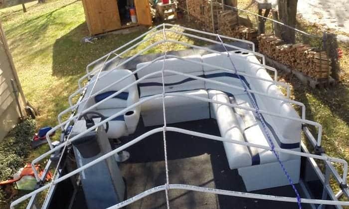 diy-pontoon-cover-support-system
