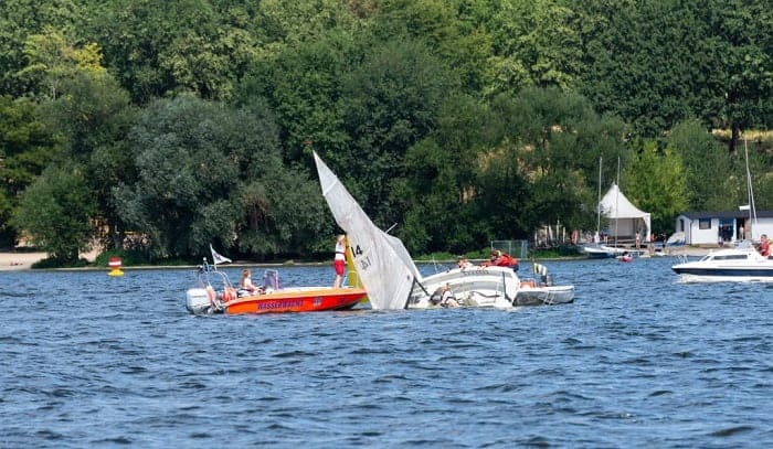 what should you do to avoid colliding with another boat