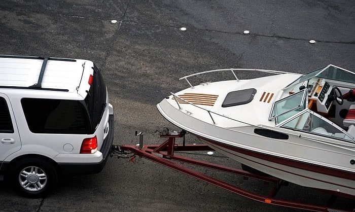 the tongue weight of a trailer should be what percent of the total weight of the boat