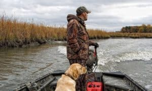 what should sportsman consider when hunting from a boat