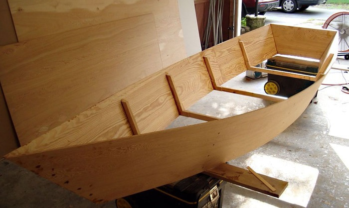how to build a plywood boat