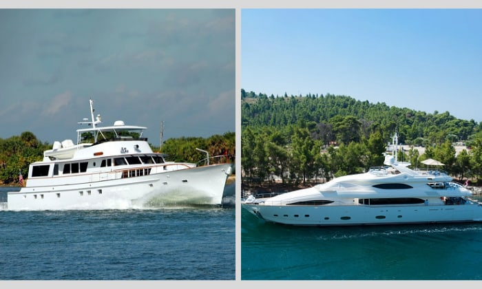 difference between a boat and a yacht