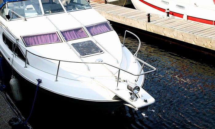 what is recommended when docking your boat